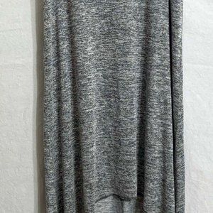 XL Gray Juicy Couture High Low Maxi Dress